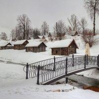 Деревенские бани на реке Ухтанка :: Константин