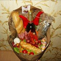Вкусный праздничный букет для наших мужчин! :: Надежда
