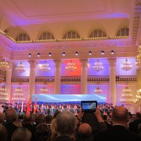 Колонный зал. Начало концерта :: Дмитрий Никитин