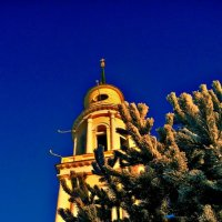 Ахтырская церковь в городе Орёл :: Леонид Абросимов