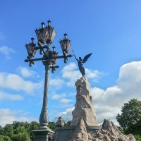 Памятник броненосцу «Русалка». Таллин. :: Олег Кузовлев