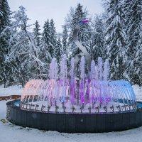 Зимний фонтан :: Владимир Орлов