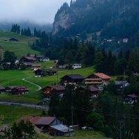 Швейцария.Альпы.Вечер. :: Борис