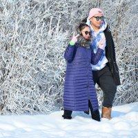 На фоне русской зимы :: Наталия П