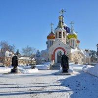 Храм в Переделкино :: Леонид Иванчук