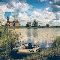 На святом озере. :: Александр Селезнев