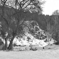 В воскресный день на Каменке-реке. :: Михаил Полыгалов