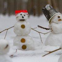 Самый добрый снеговик :: Алексей Лейба