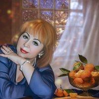 портрет с мандаринами :: Татьяна Пыликова