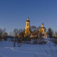 В лучах заходящего солнца :: Сергей Цветков