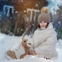 зима в деревне :: Лидия Ханова