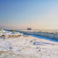 Зима на брекватере. :: Вахтанг Хантадзе