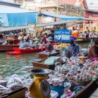 Рынок на воде. Таиланд :: Дмитрий