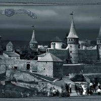 «Гравюра» старого замка :: Sergey-Nik-Melnik Fotosfera-Minsk