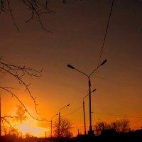 Начинался новый день... :: Леонид Абросимов