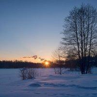 Холодное солнце февраля :: Олег Пученков