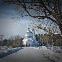 Сельский Храм. :: Алла Кочергина