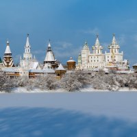 Измайловский Кремль зимой :: Борис Гольдберг