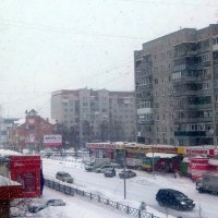 А снег идёт , а снег идёт . 1 марта . :: Мила Бовкун