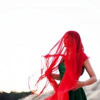 в красной вуали :: ekaterina kudukhova #PhotobyKaterina