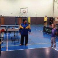 Товарищеская встреча в турнире по настольному теннису на «Кубок Дружбы» :: Центр Юность