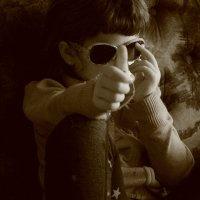 В стиле  музыканта Принса. :: Eva Tisse