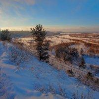 Зима в долине Иркута :: Анатолий Иргл