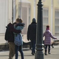 А в городе шёл мелкий снежок ... :: Александр Степовой
