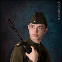 Юный защитник Родины :: Борис Борисенко