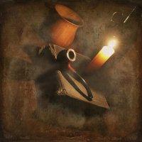 Огонь свечи — магический фонарь, что оживляет памяти полотна… :: Tatiana Markova