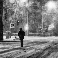 На распутье в Рождественской метели :: Сергей В. Комаров