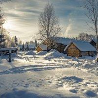 Февраль месяц в деревне... :: Федор Кованский
