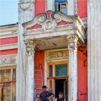 Балконы. :: Андрей Козлов