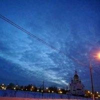 Морозная мартовская ночь. :: Михаил Столяров