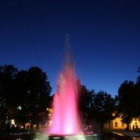 Вечер у фонтана :: Ольга