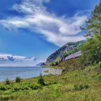 Байкальское небо :: Виктор Заморков