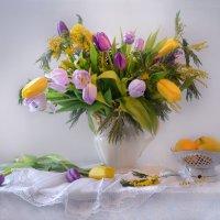 С днем весенним, ласковым, чудесным праздником всех барышень и дам! :: Валентина Колова