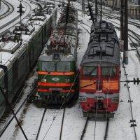 На деповских путях :: Роман Пацкевич
