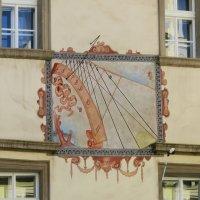 Солнечные  часы в Праге. :: ИРЭН@ .