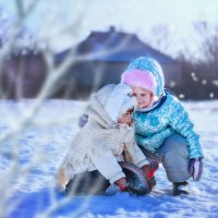 Зима :: Дарья