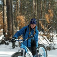 Лес, зима, велосипед :: Евгений Бурындин