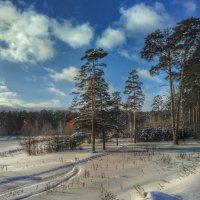 Зимний пейзаж :: Александр Шишин