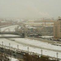 Замёрзшая река :: Алексей Соминский