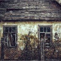 А первый снег всё падал, на дом в котором никто уж больше не живёт... :: Вера Катан