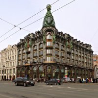 Дом Зингера. :: Марина Харченкова