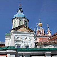 Купола монастыря. Санаксары. Мордовия :: MILAV V