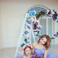 Мама с дочкой! :: марина алексеева