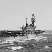 HMS EAGLE and HMS MALAYA in the Mediterranean during Operation Spotter, which delivered 16 RAF Spitf :: Александр