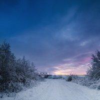 Зимняя дорога :: Татьяна Афиногенова