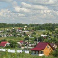 Хорошо в деревне, простите, в селе, летом. :: Михаил Полыгалов